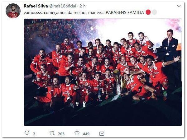 A supertaça é do Benfica