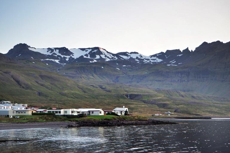 Vue depuis Grundarfjörður en Islande