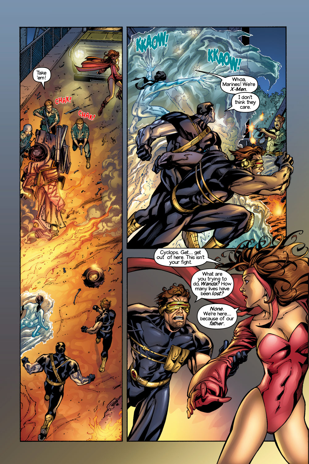 Read online Ultimate X-Men comic -  Issue #1/2 - 6