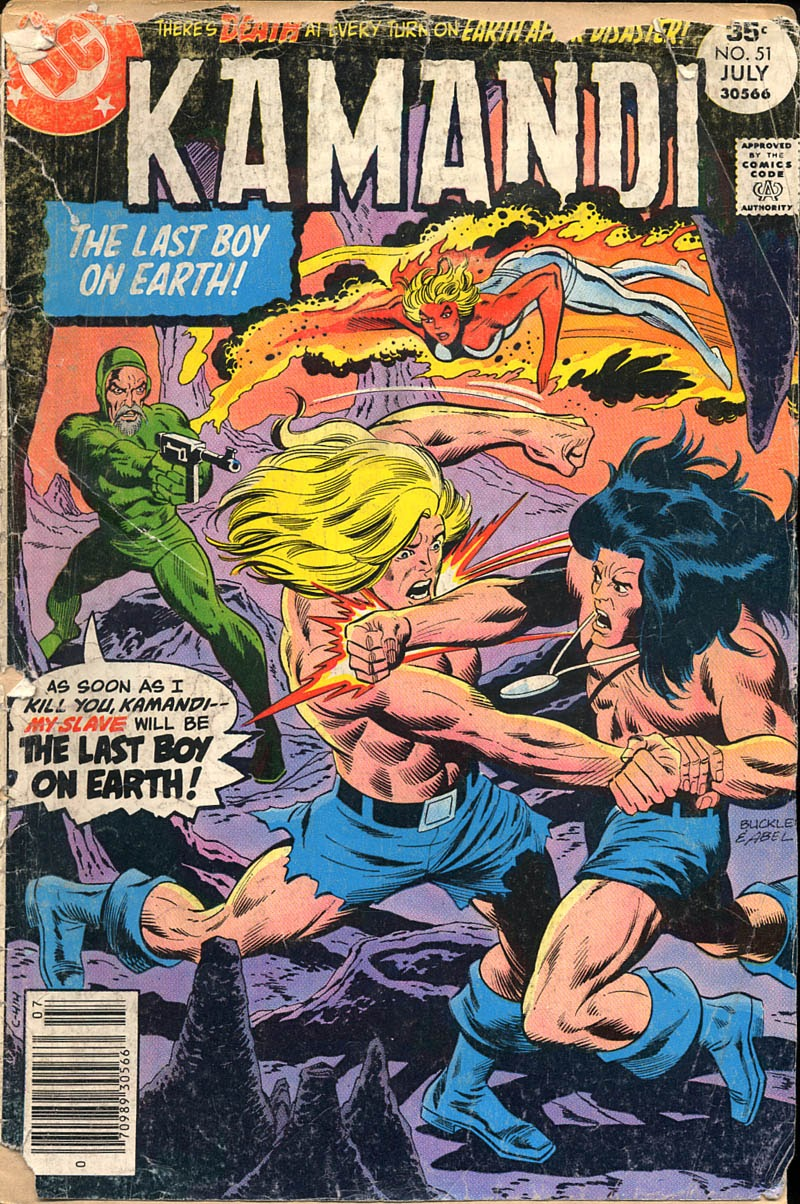 Kamandi, The Last Boy On Earth issue 51 - Page 1