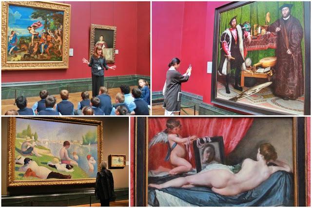 Visita a la Galería Nacional de Londres. Cuadros imprescindibles 1