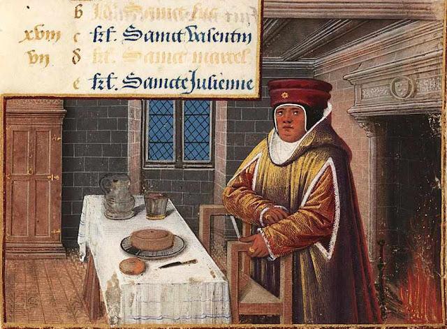 Burguês medieval no inverno, col. Lewis E M 011-19
