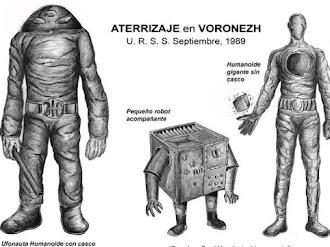 Los Extraterrestres Gigantes de Voronezh