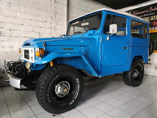 Jual Jeep legendaris FJ40 1981