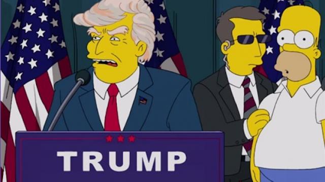 'عائلة سمبسون' توقعت فوز ترامب قبل 16 عاماً.. وحذرت العالم من هذا الأمر! وترامب سيتسبب بهذه الأزمة للعالم بحسب هذا الكارتون... فهل ستحدث حقاً؟