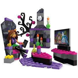 MH Monsterific Booster Pack Clawdeen Wolf Mega Blocks Figure