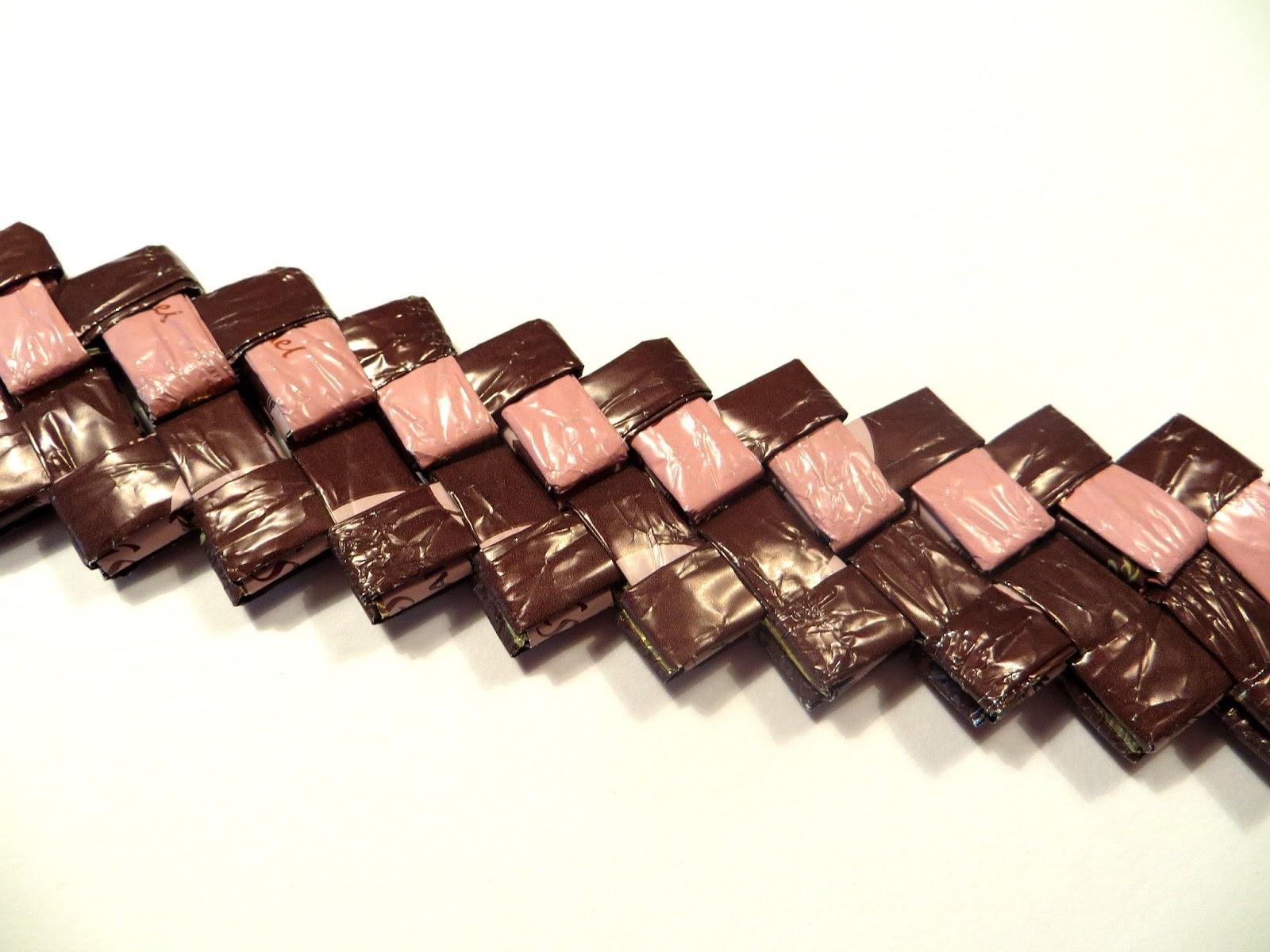 candy wrapper crafts karkkipaperi hakaketju