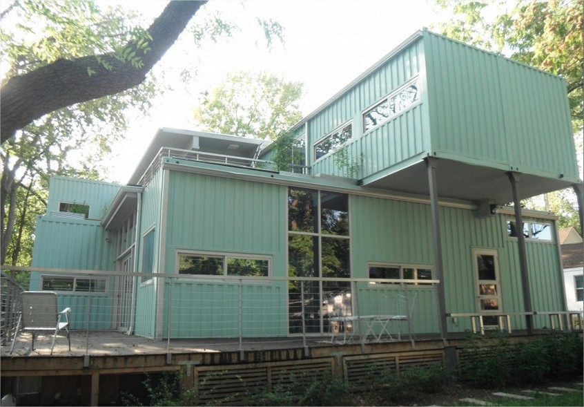 Are shipping container homes cost effective container home - Sost to build shipping container home ...