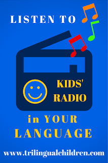 kids radio stations for around the world in different languages
