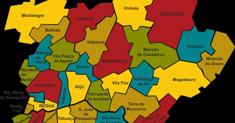 mapa de portugal tras os montes FARRAPOS DE MEMÓRIA: TRÁS OS MONTES E ALTO DOURO mapa de portugal tras os montes