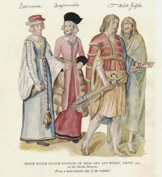 Matsukaze Workshops: 16th Century Irish Dress