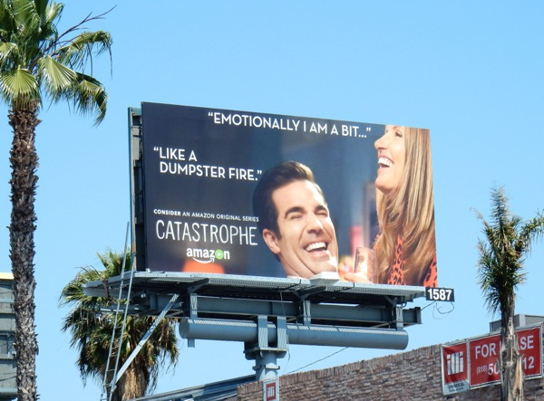 Catastrophe season 2 Emmy 2016 FYC billboard