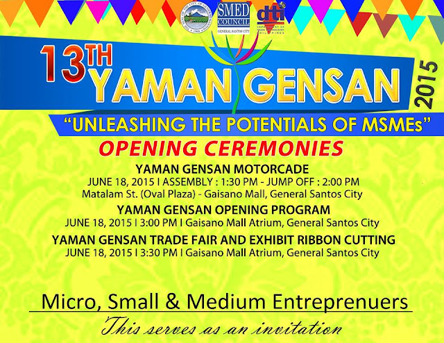 All set for Yaman Gensan 2015