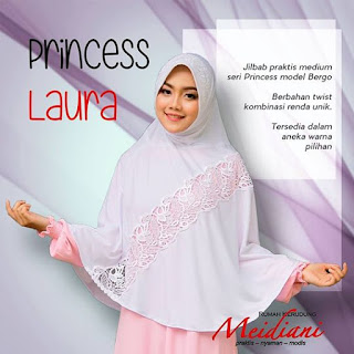 Jilbab Medium PRINCESS LAURA