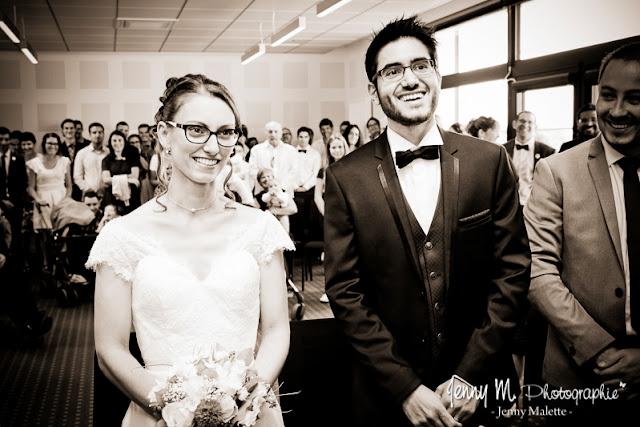photo sépia, reportage cérémonie civile mariage, portraits des mariés