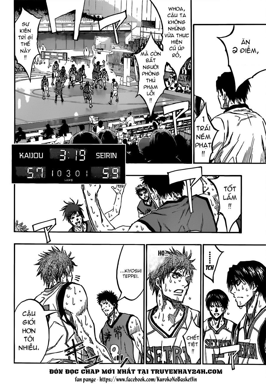 Kuroko No Basket chap 194 trang 4
