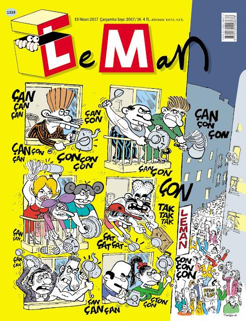 leman dergisi tencere tava karikatür