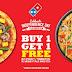 Domino's Pizza Celebrate Independence Day Beli 1 Gratis 1