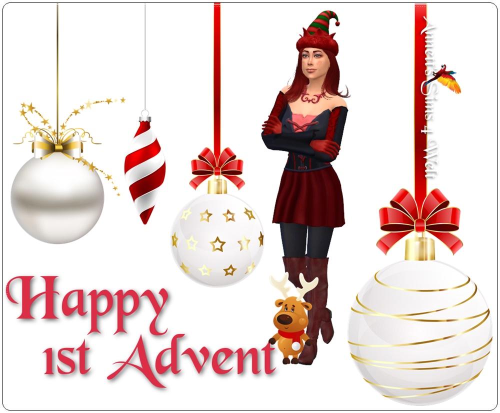 annett 39 s sims 4 welt happy 1st advent. Black Bedroom Furniture Sets. Home Design Ideas