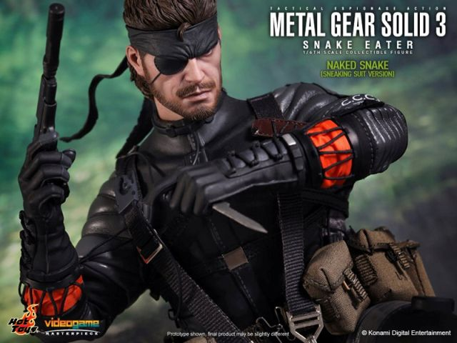 Hot Toys 1/6th Scale Metal Gear Solid 3 Snake Eater: Naked