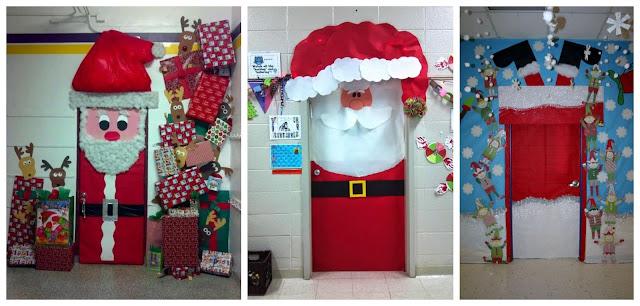 Aprende c mo decorar tu puerta en navidad con dise os de santa claus Como decorar una puerta