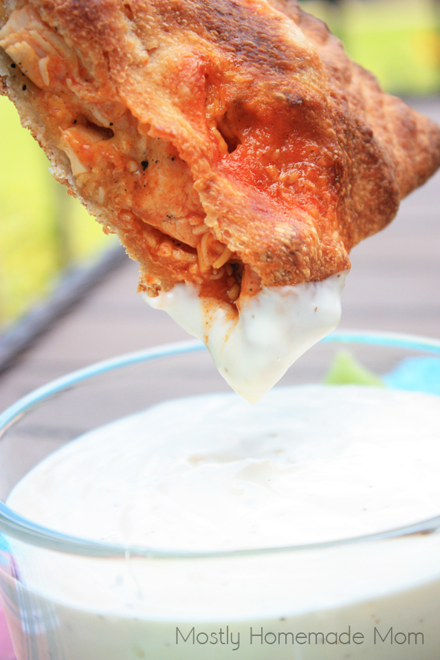 Grilled Buffalo Chicken Calzone recipes