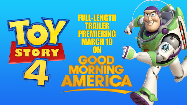 Toy Story 4 Good Morning America Trailer
