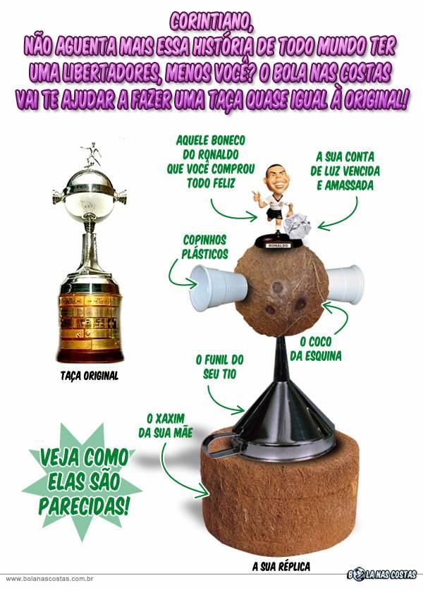 431ad55403 A primeira Taça Libertadores do Corinthians.