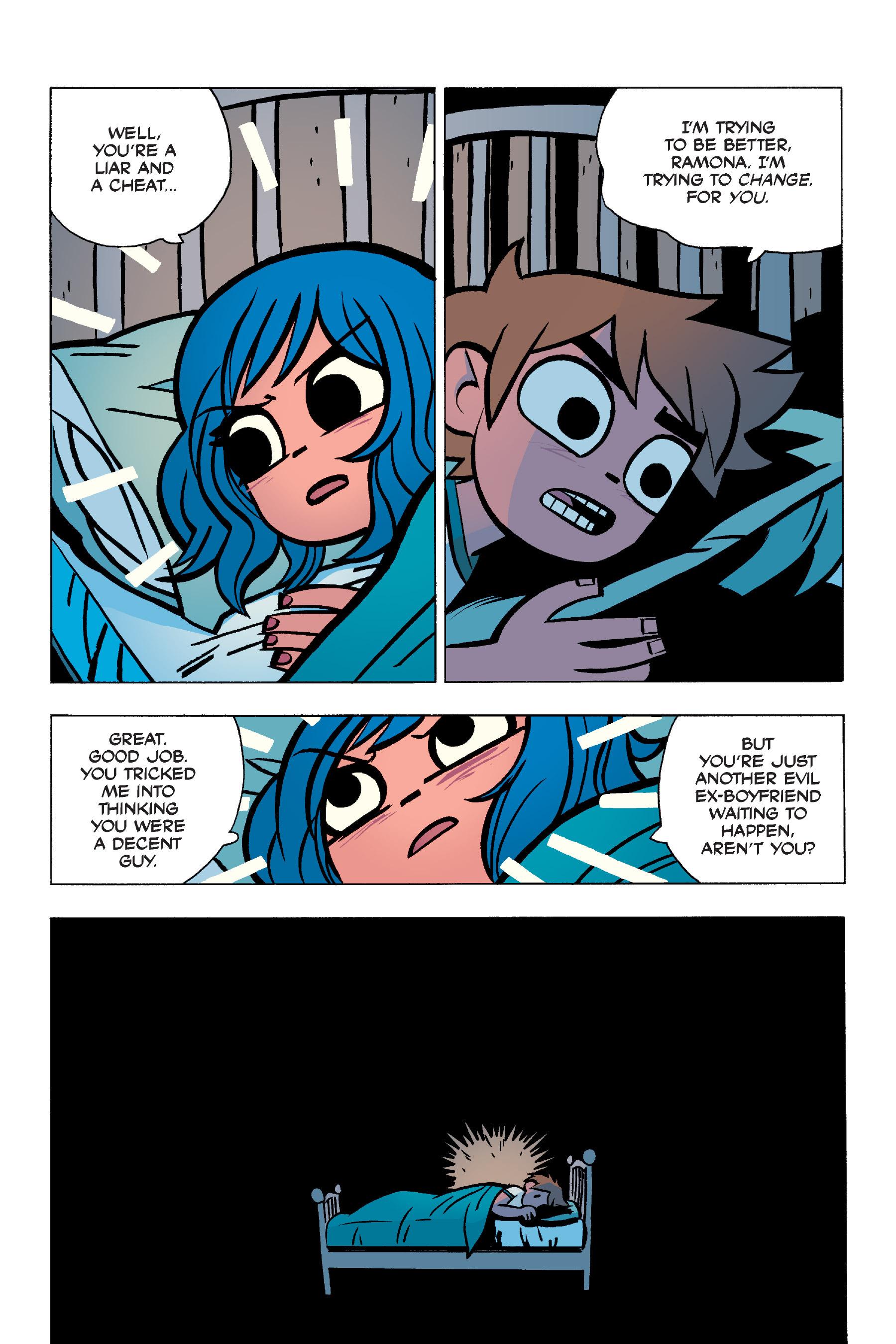 Read online Scott Pilgrim comic -  Issue #5 - 107