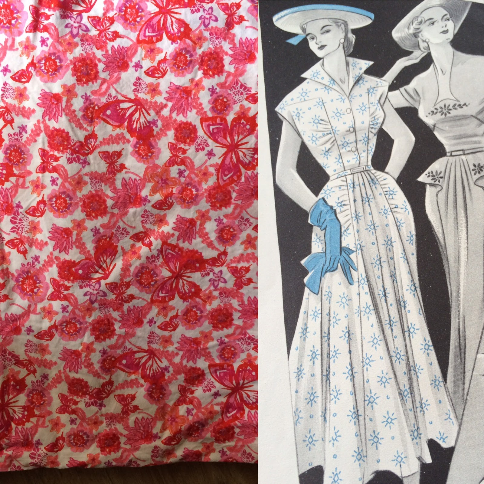 Sewing ♥ Vintage ♥ Knitting: 50s Summer Dresses: What to ...