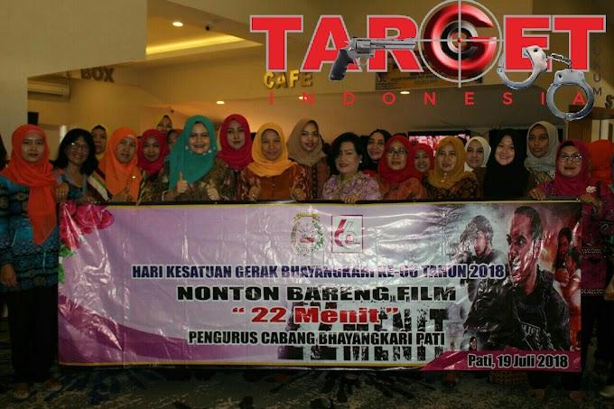 """TNI Dan Polri Bersama Forkompinda Sinergisitas Nonton Bareng di Bioskop """"22 Menit"""""""