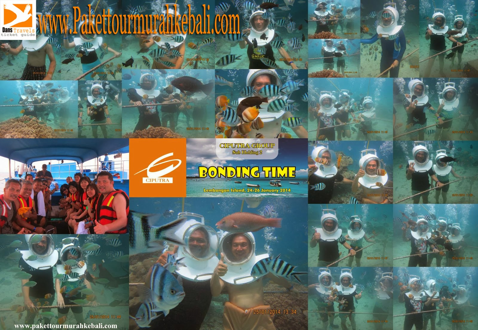 Seawalker Lembongan Treasure Hunt Lembongan