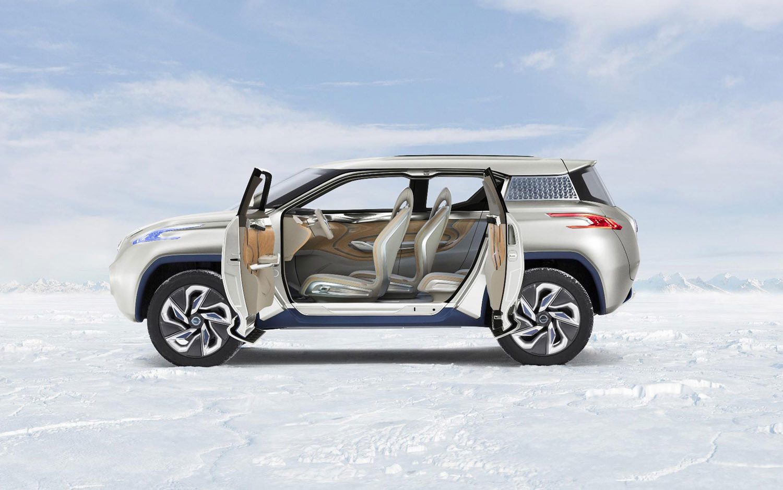 Cars Model 2013 2014 Nissan Terra Fcev Concept