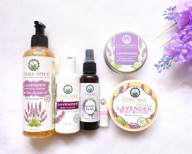 Utama Spice Body Care - Lavender Series