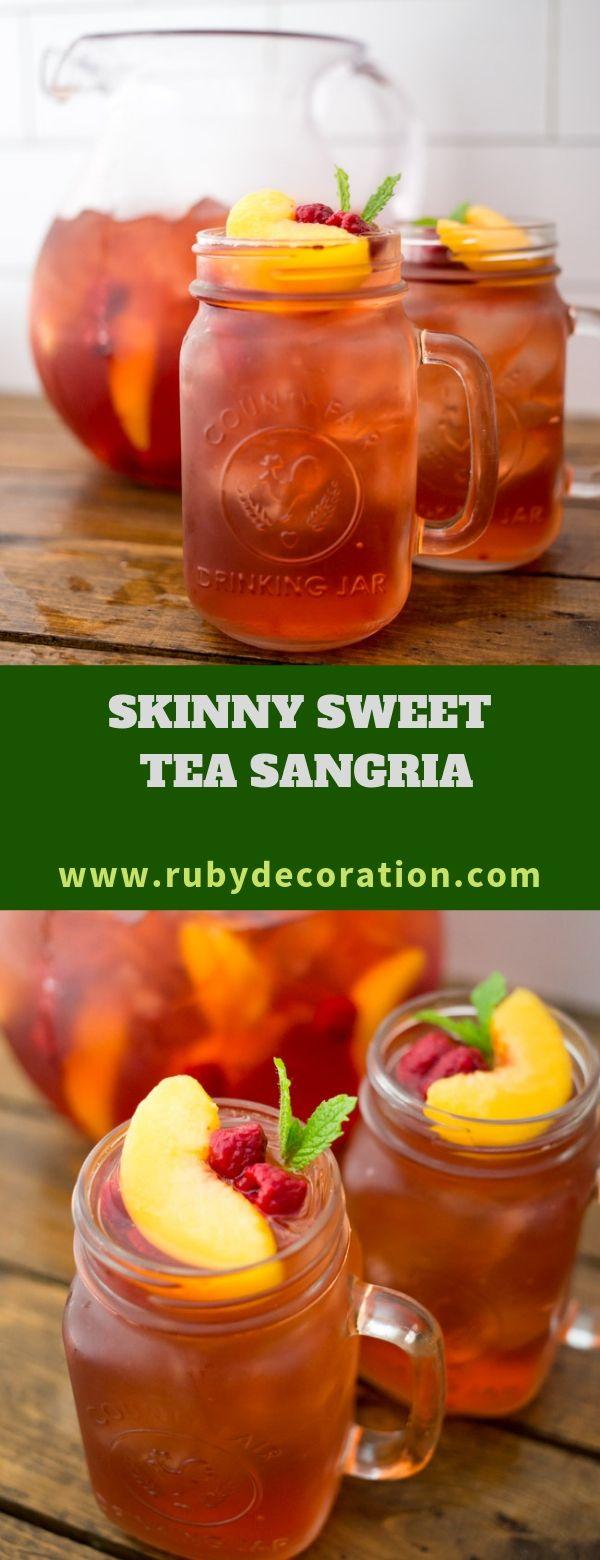 SKINNY SWEET TEA SANGRIA