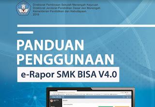 Download Panduan Penggunaan E-rapor SMK Bisa V4.0 Tahun 2018