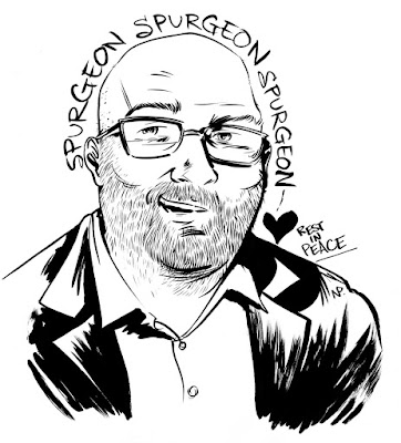 Tom Spurgeon illustration by Nate Powell