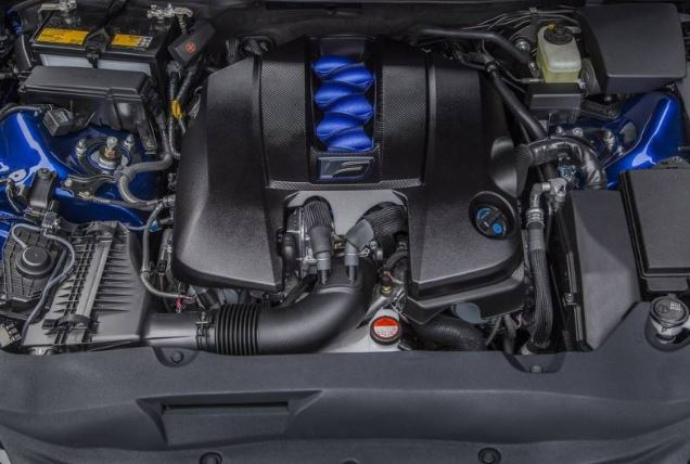 2017 Lexus GS F Engine
