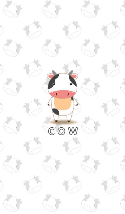 cute cow theme v.1
