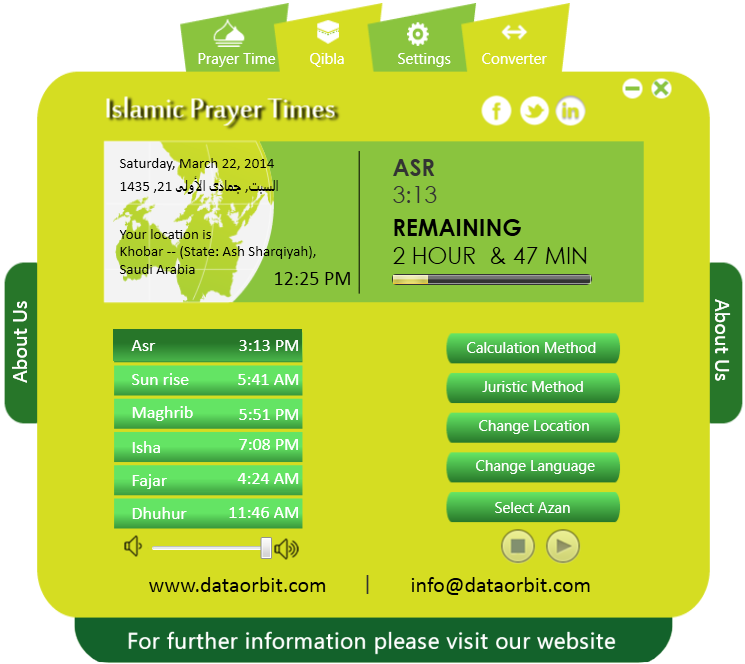 Arabic date converter online in Melbourne