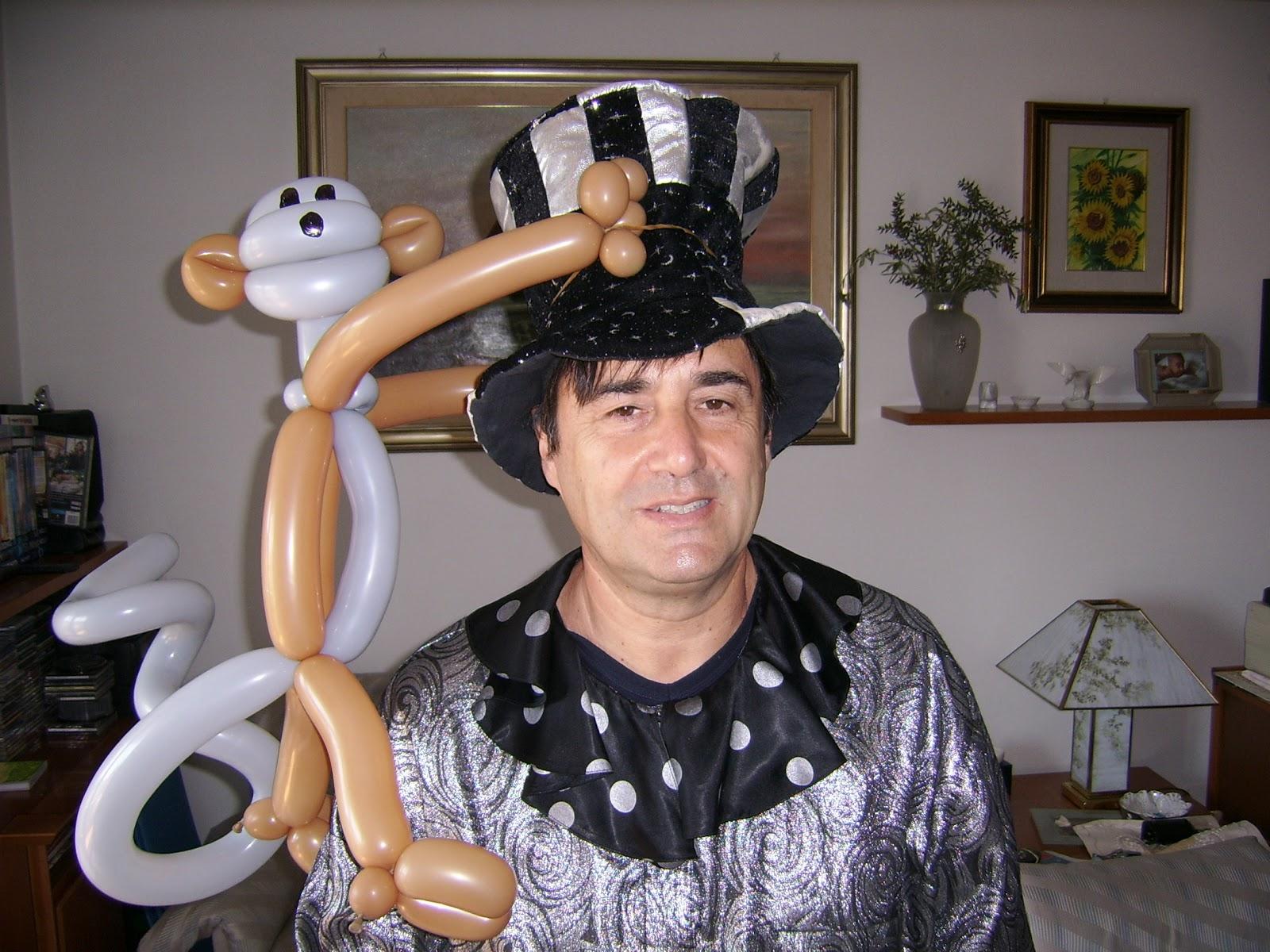 Claudio il Mago dei Palloncini: Animazione a feste di compleanno