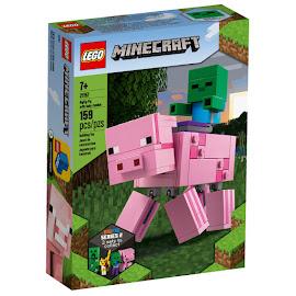 Minecraft Pig With Baby Zombie Lego Set