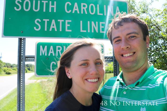 48 No Interstate back roads cross country coast-to-coast road trip North Carolina Bodie Island light house