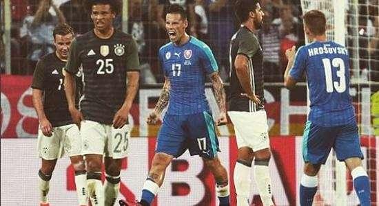 Germania Slovacchia 1-3 HIGHLIGHTS. Supergol di Hamsik