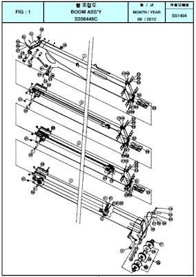 Đốt cần của cẩu SS1404