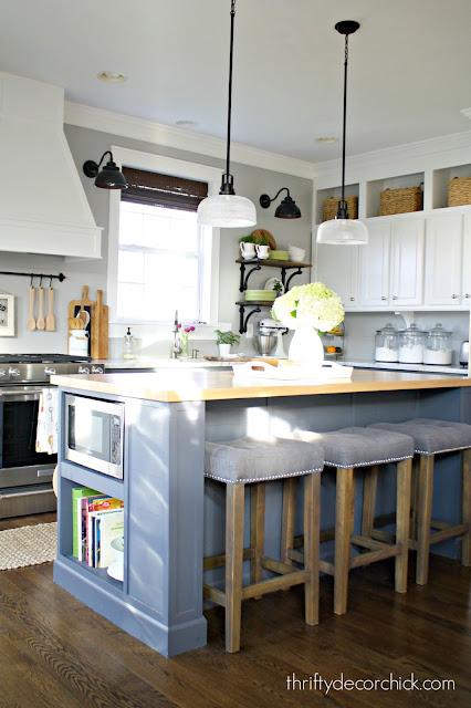 adding length to kitchen island