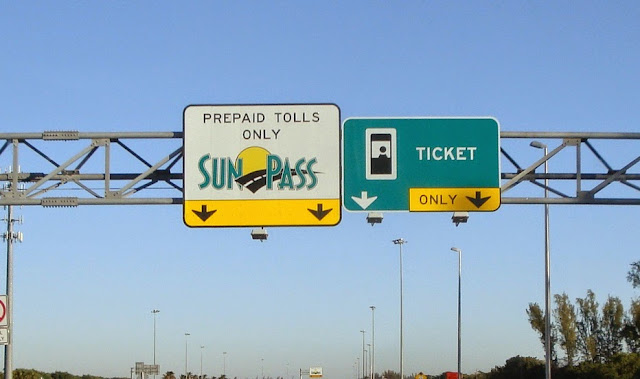 Peajes, Sunpass y las Express lanes en Miami y Orlando - Florida
