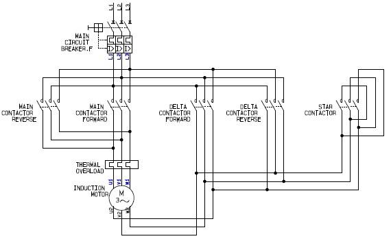 Delta Wire Diagram Wiring Diagram Compressor Star Triangle Star
