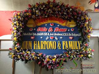 bunga papan wedding deluxe