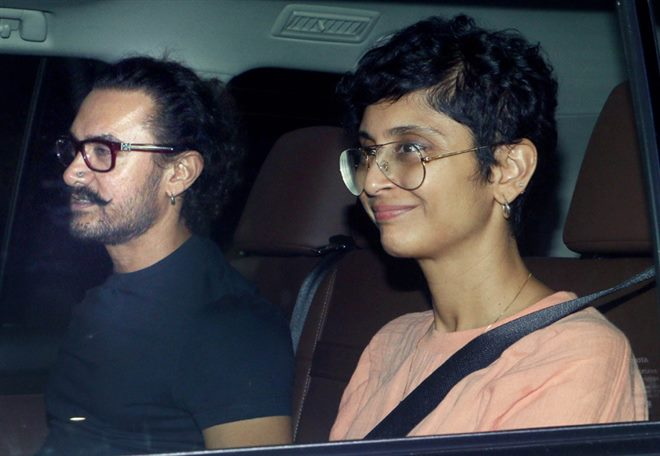 Bollywood Celebrity At Ranbir Kapoor Birthday Bash Stills